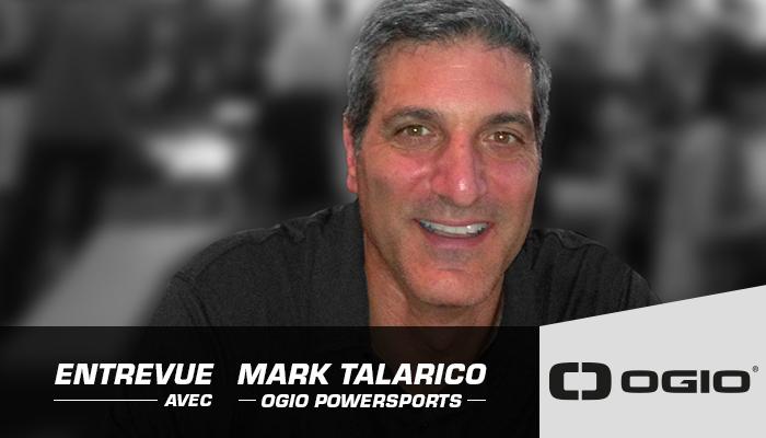 Photo - Mark Talarico Directeur général d'Ogio Powersports