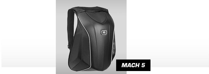 Photo du sac à dos de moto Mach 5