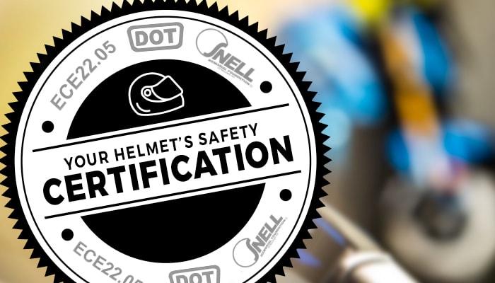 Helmet's Safety Certifications