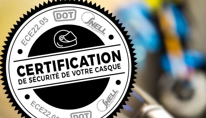 Certification Sécurité Casque