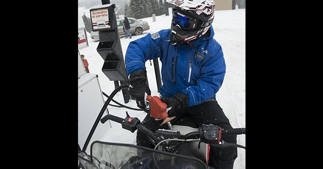 snowmobile gas