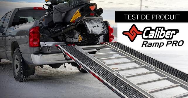 Rampe Caliber PRO - Test de produit
