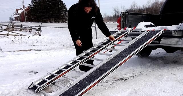 Rampe Caliber PRO - Test Produit : Chargement / Déchargement