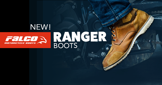 Ranger boots from Falco Ranger Motorcycle Boots