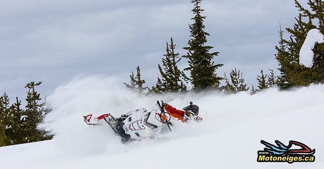 Why film your snowmobile accomplishments ? - CKX TX707 - carbon fiber helmet with an integrated GoPro camera attachment