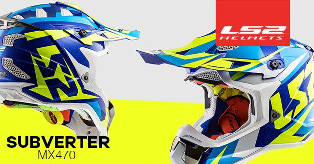LS2 Helmets MX470 SUBVERTER