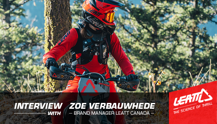 Interview with Zoe Verbauwhede from LEATT Canada